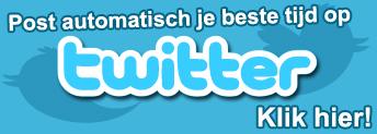 Post automatisch je beste tijd op Twitter